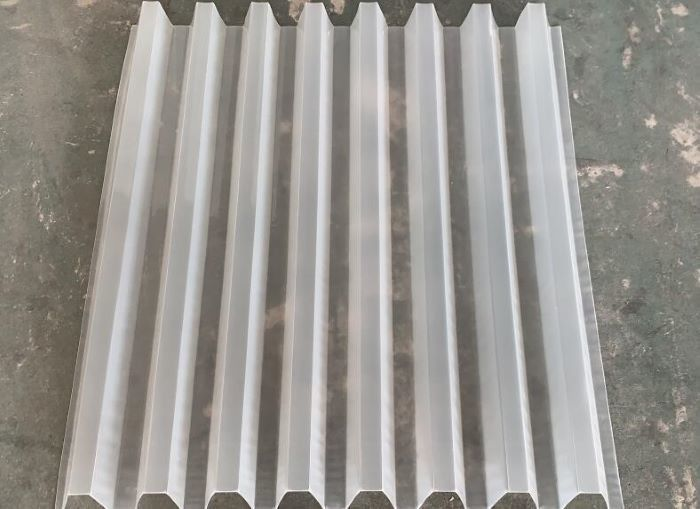 Water Treatment Settler Tube Lamella Media 100% Virgin PVC Pp Mateial